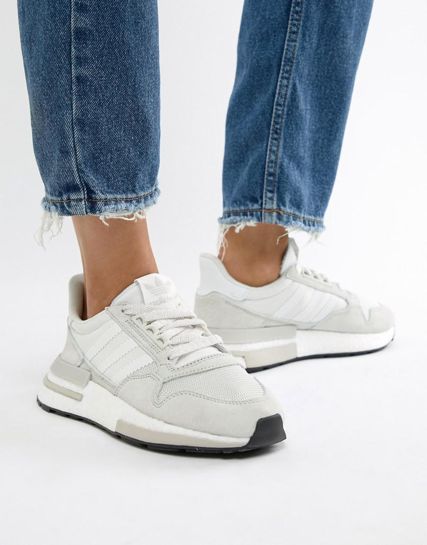 5faad61804309 Lyst - adidas Originals Zx 500 Rm Sneakers In White in White