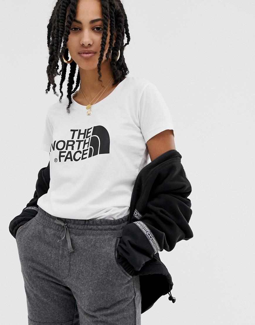 f43f25b0 The North Face Easy T-shirt In White in White - Lyst