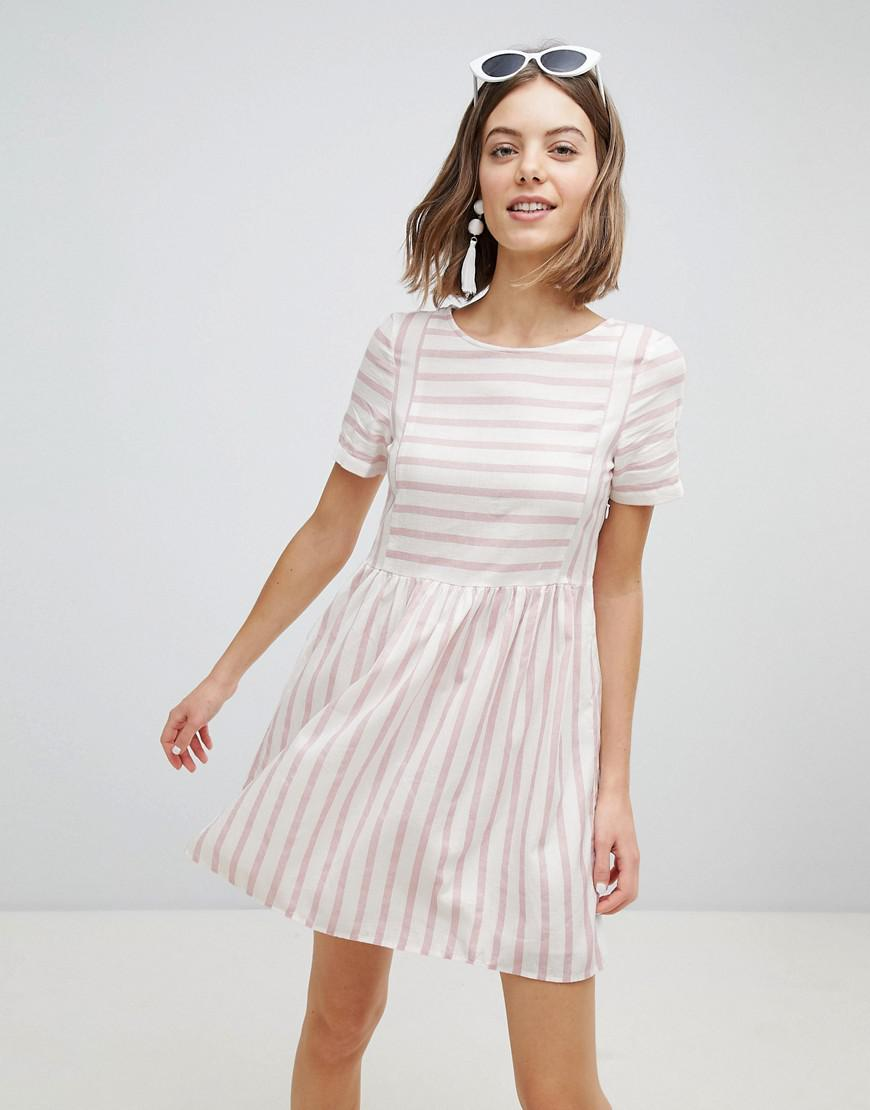 Stripe Skater Dress - Night sky stripe Vero Moda Wide Range Of For Sale Online Sale Outlet Excellent Choice Online Cheap In China ErNMzB