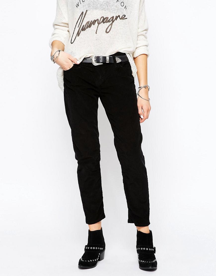 The laundry room boyfriend jeans in black wash in black lyst - Hm herren jeans ...
