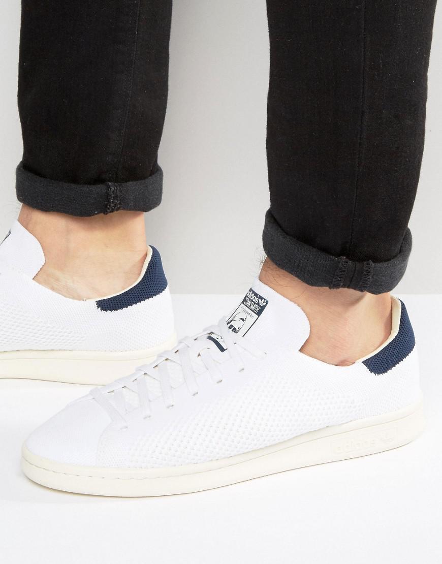 8f16bb954248 adidas Originals. Men s Stan Smith Og Primeknit Trainers In White S75148