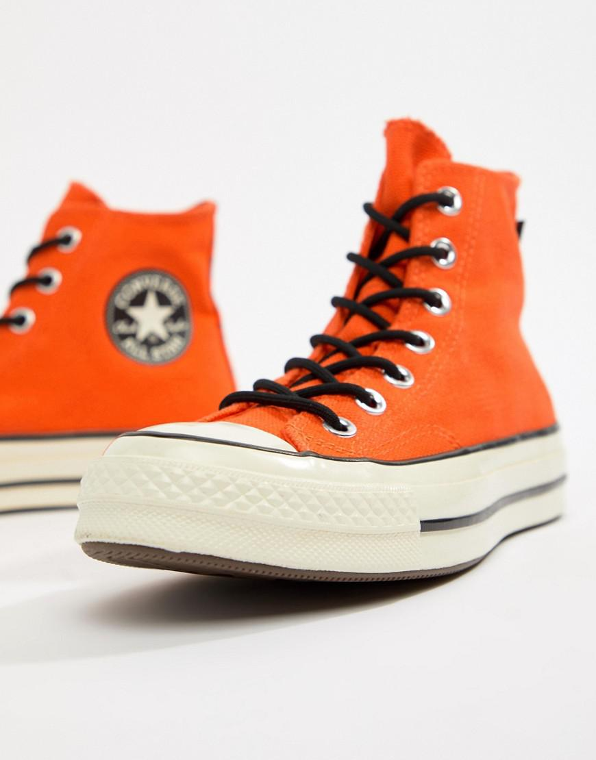 d97fcd7d4fa Lyst - Converse X Gore-tex Chuck 70 Hi Orange Waterproof Sneakers in Orange