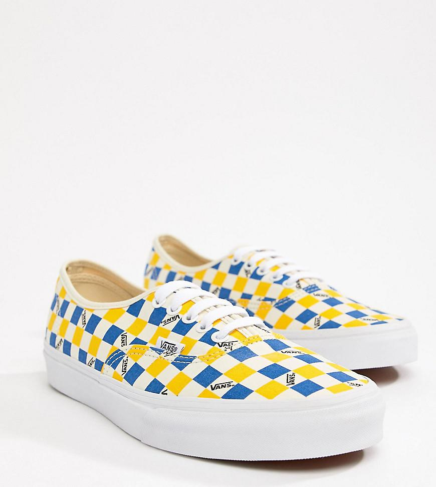 c1b6ba84a9 Vans Factory Pack Authentic Trainers In Yellow Exclusive At Asos in ...