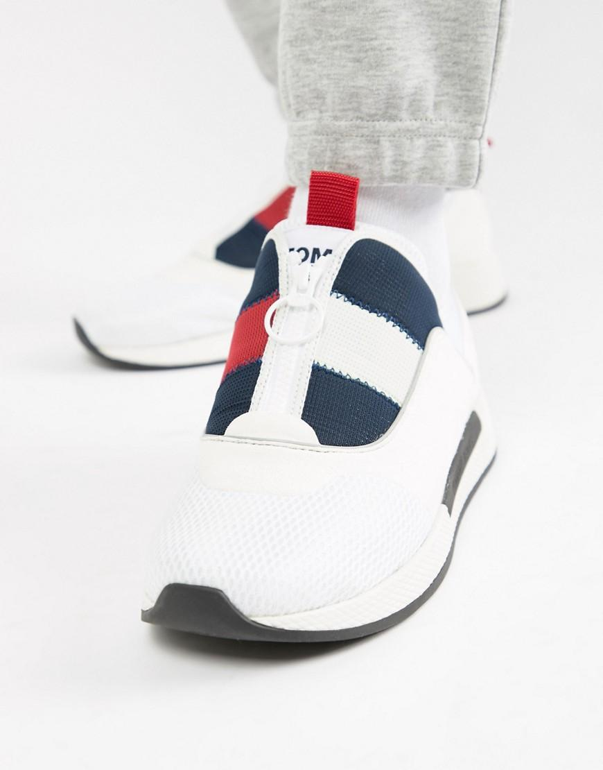 477a714a5a54d6 Lyst - Tommy Hilfiger Icon Sport Flexi Sole Sneaker In Red White And ...
