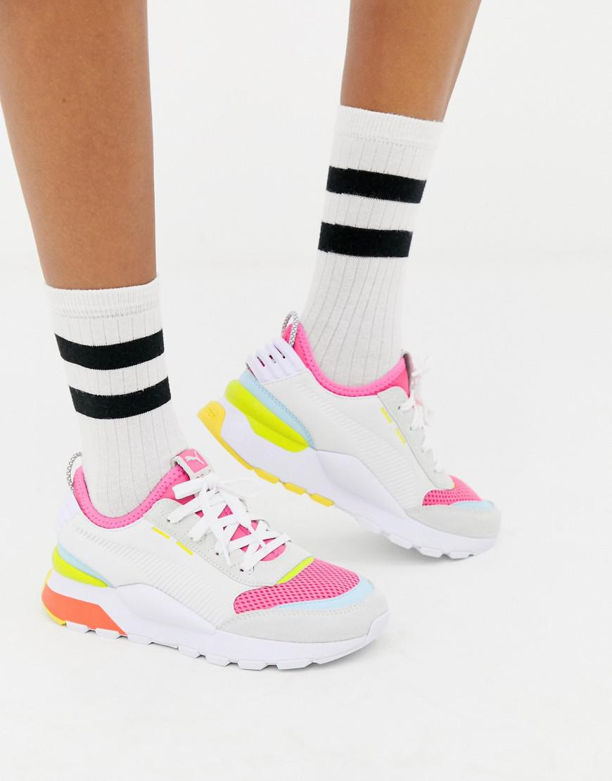 fb874234c9a PUMA Rs-0 Winter Toys White Trainers in White - Lyst