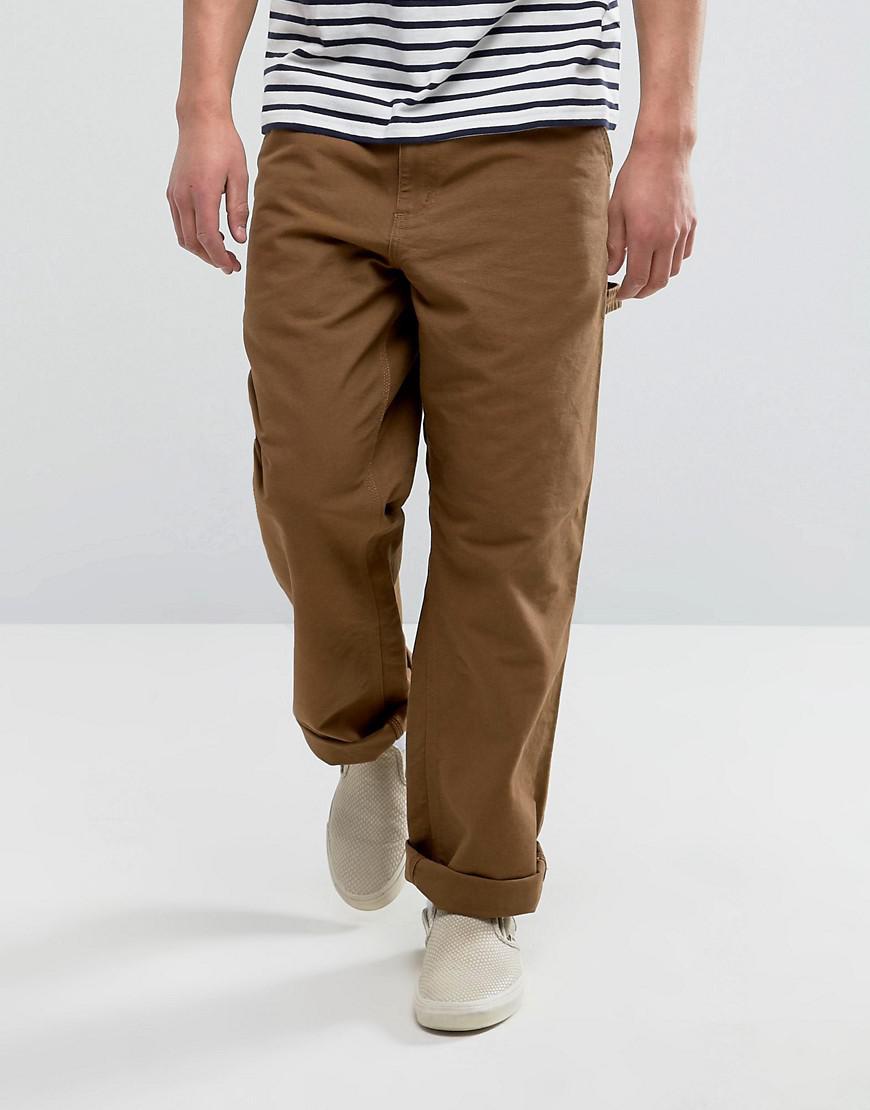aab80c43c52 Carhartt WIP Single Knee Cargo Pants in Brown for Men - Lyst