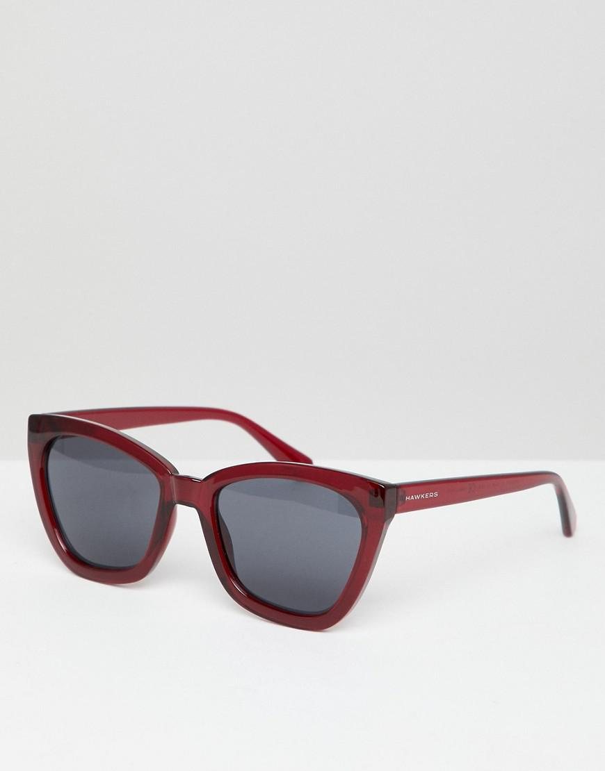 877b83baff852 Hawkers Hawkers Melrose Square Sunglasses In Red in Red for Men - Lyst