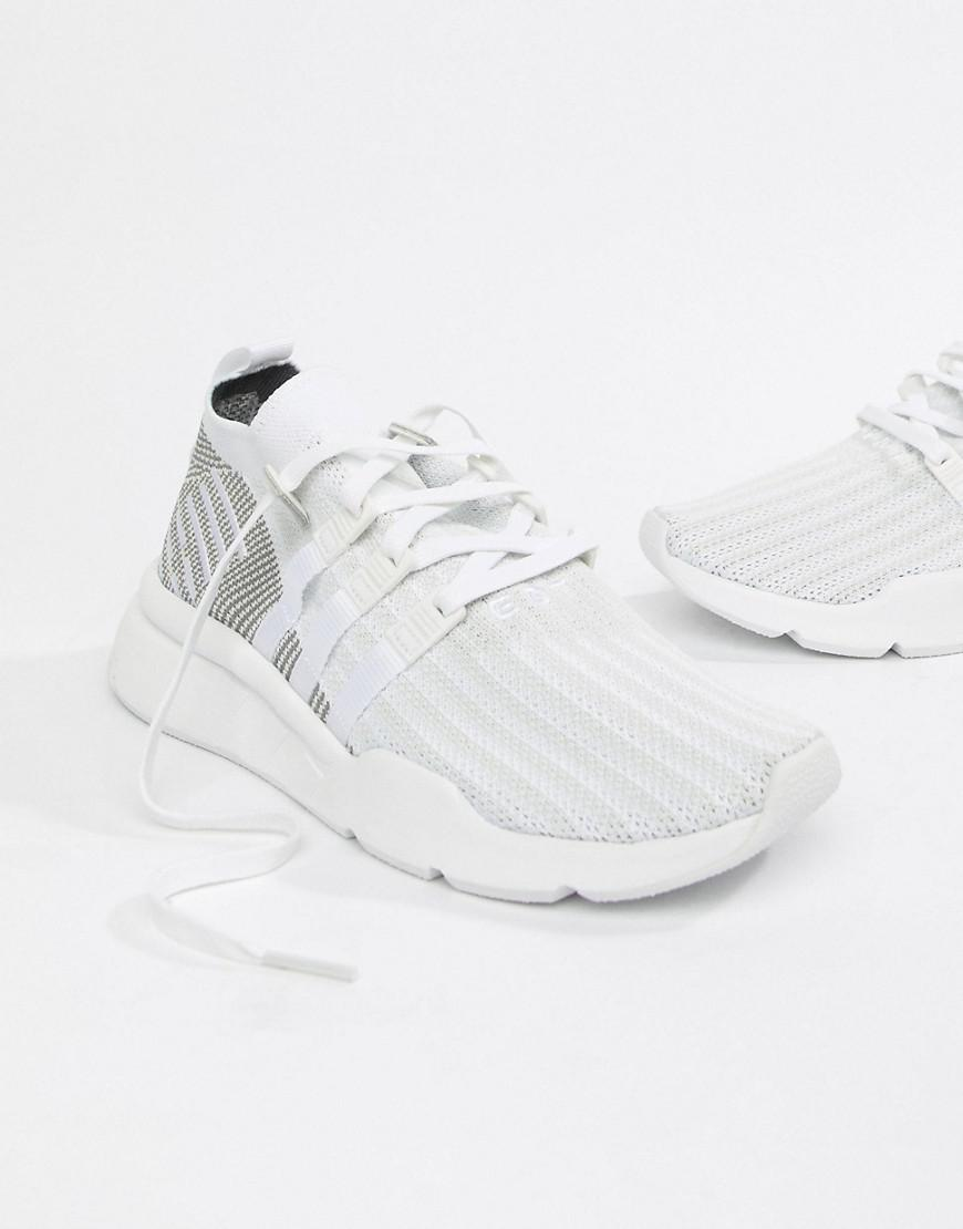 adidas Originals Eqt Support Mid Adv Trainers In White Cq2997 in ... 4f71d27c23d2