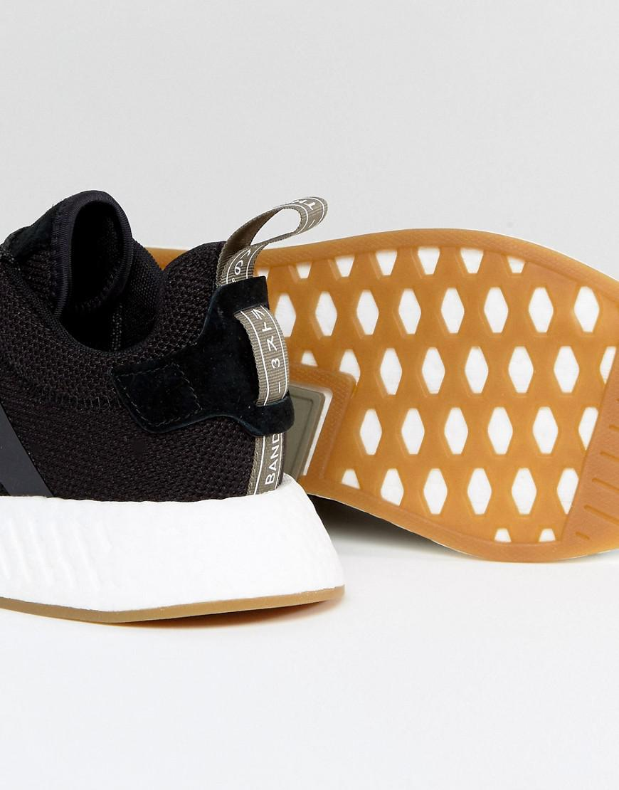 f991e0701bce4 Lyst - adidas Originals Nmd R2 Sneakers In Black By9917 in Black for Men