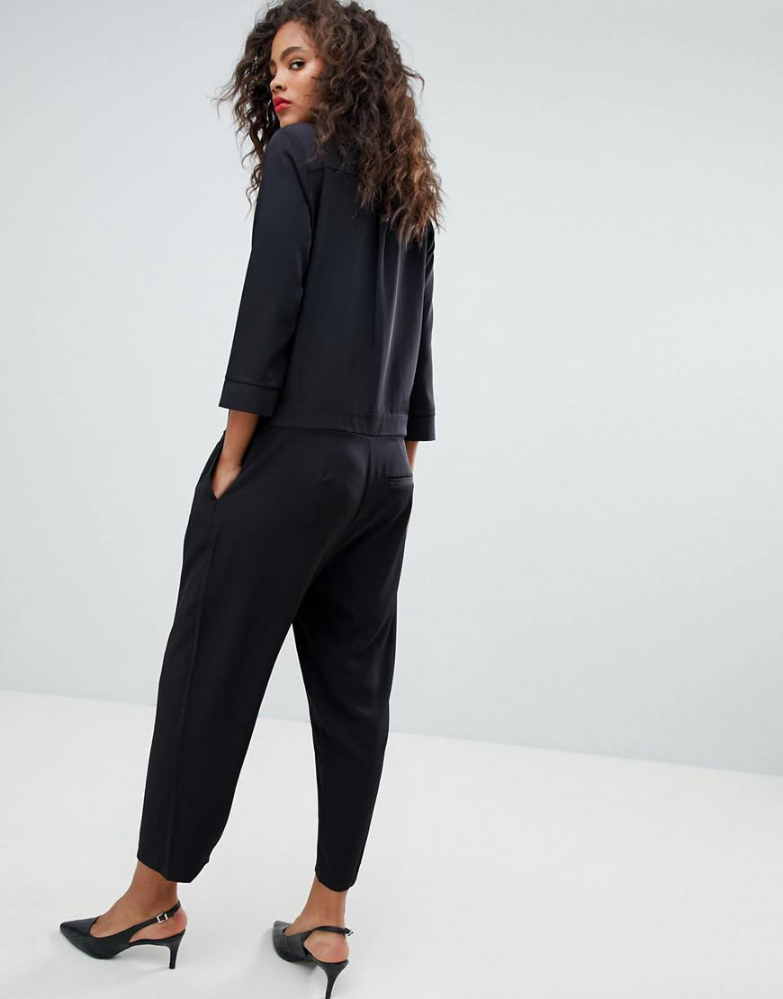 f3d28a73cc1 Y.A.S Tailored Jumpsuit in Black - Lyst