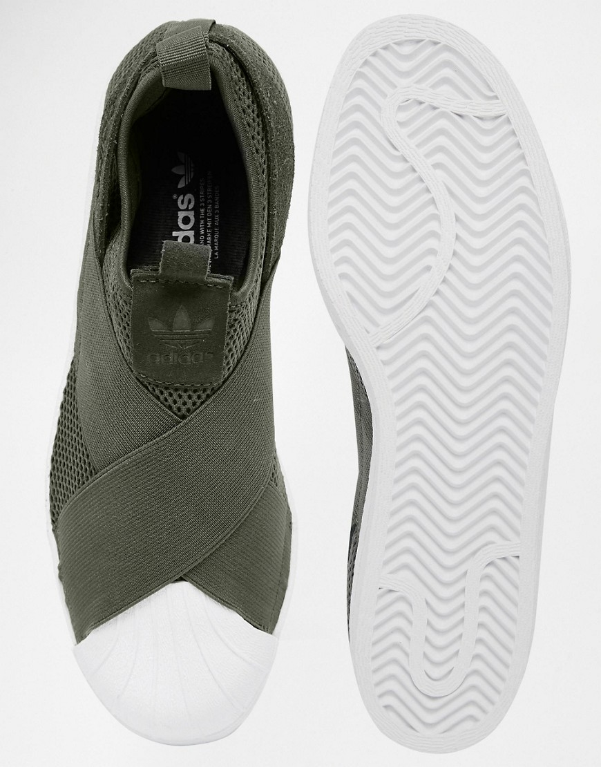 adidas slip on trainers women