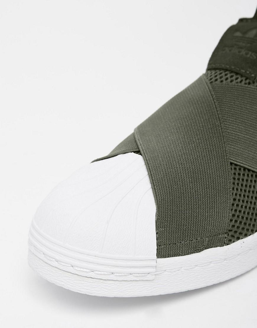 Adidas Superstar Slip On beige