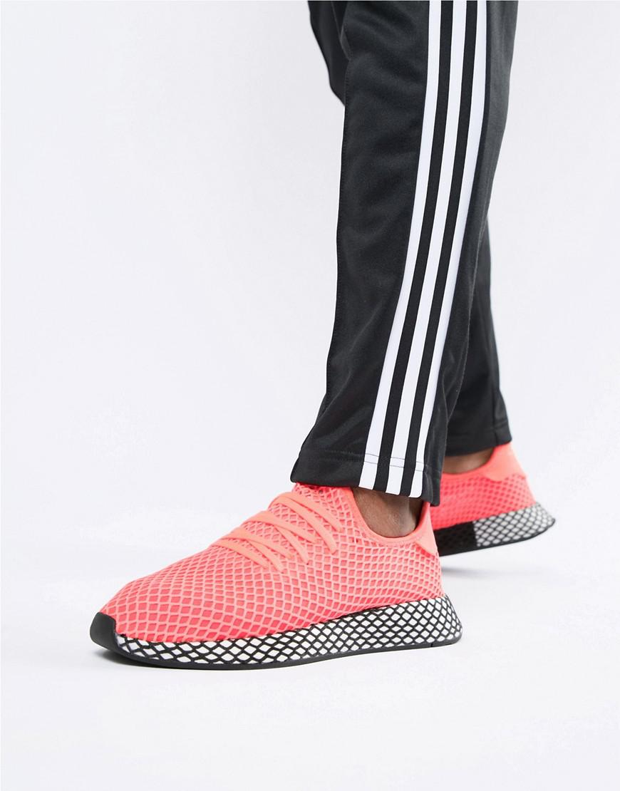 Adidas Originals deerupt zapatilla en color rosa b41769 en rosa Lyst