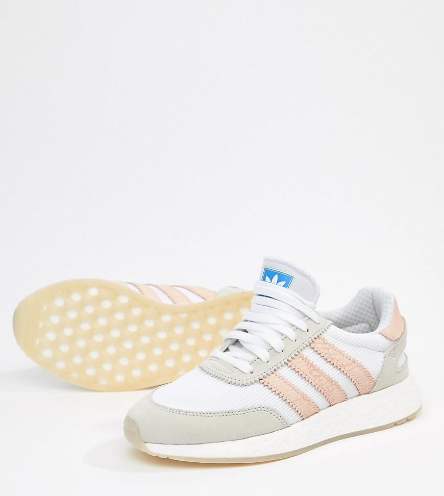fae55e0448a217 adidas Originals I-5923 Sneakers In White And Pink in Pink - Lyst