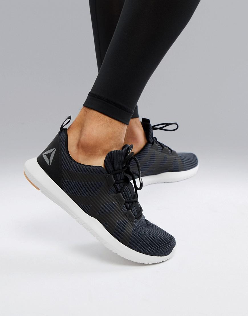 e3cacaf99d83ab Reebok Training Reago Pulse Sneakers In Black Cn5125 in Black for Men - Lyst