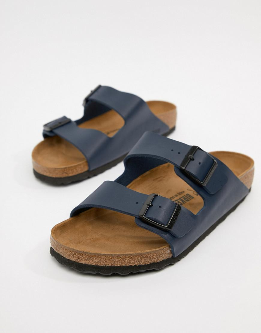 32a7ad7caf83 Birkenstock Arizona Birko-flor Sandals In Blue in Blue for Men - Lyst