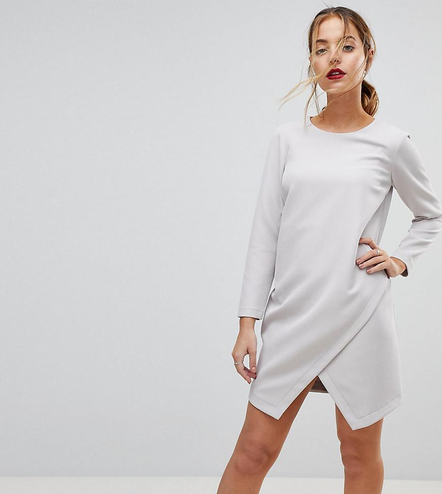 Asymmetric Clean Shift Mini Dress - Navy Asos Lowest Price For Sale Y930EDS8