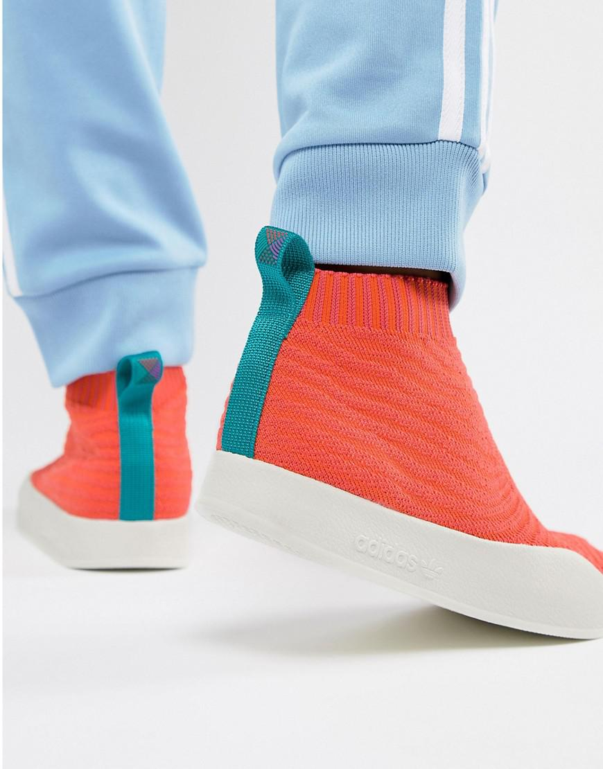 new styles 40124 90b97 adidas Originals. Mens Adilette Primeknit Sock Summer ...