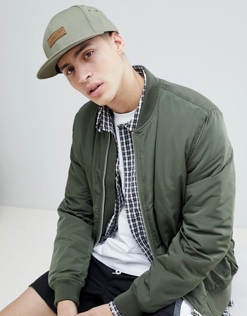Mitchell   Ness Force Adjustable Cap Exclusive To Asos in Black for ... ecae0c0299dd