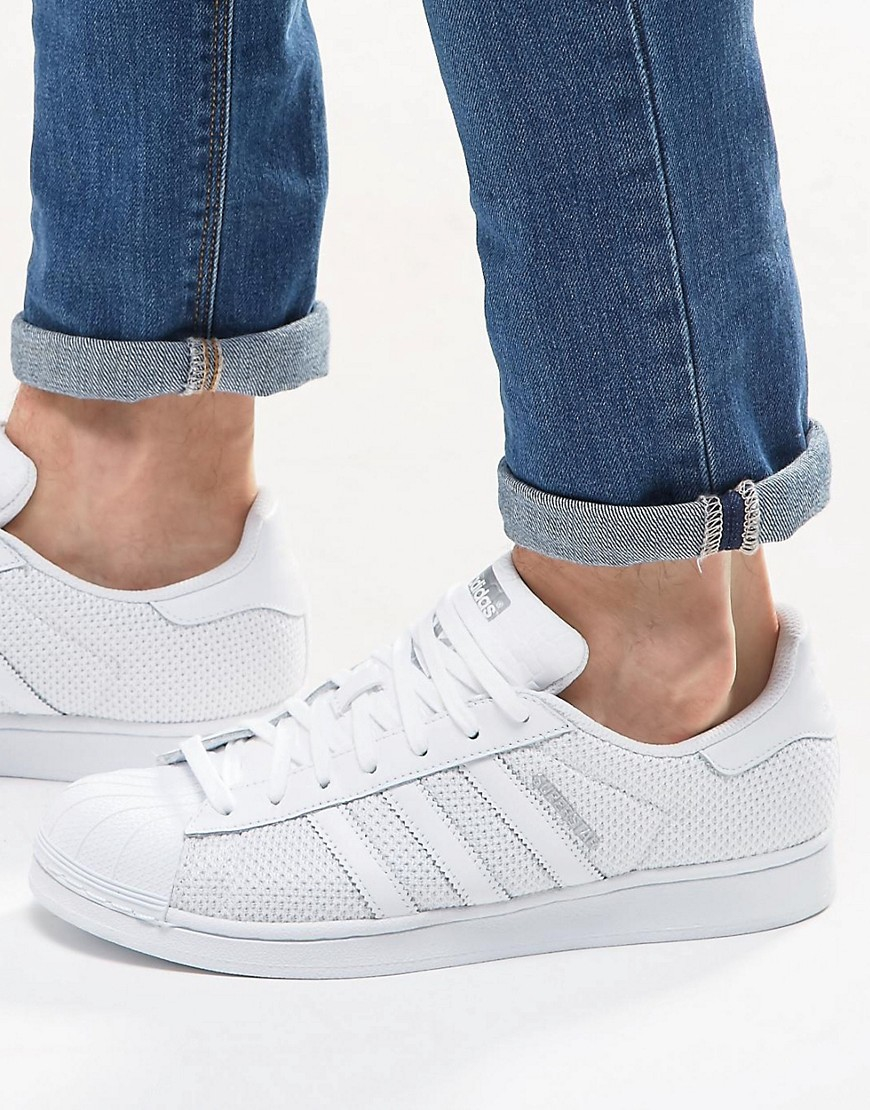 9e4c152ad8b Lyst - adidas Originals Superstar Trainers In White S75962 for Men