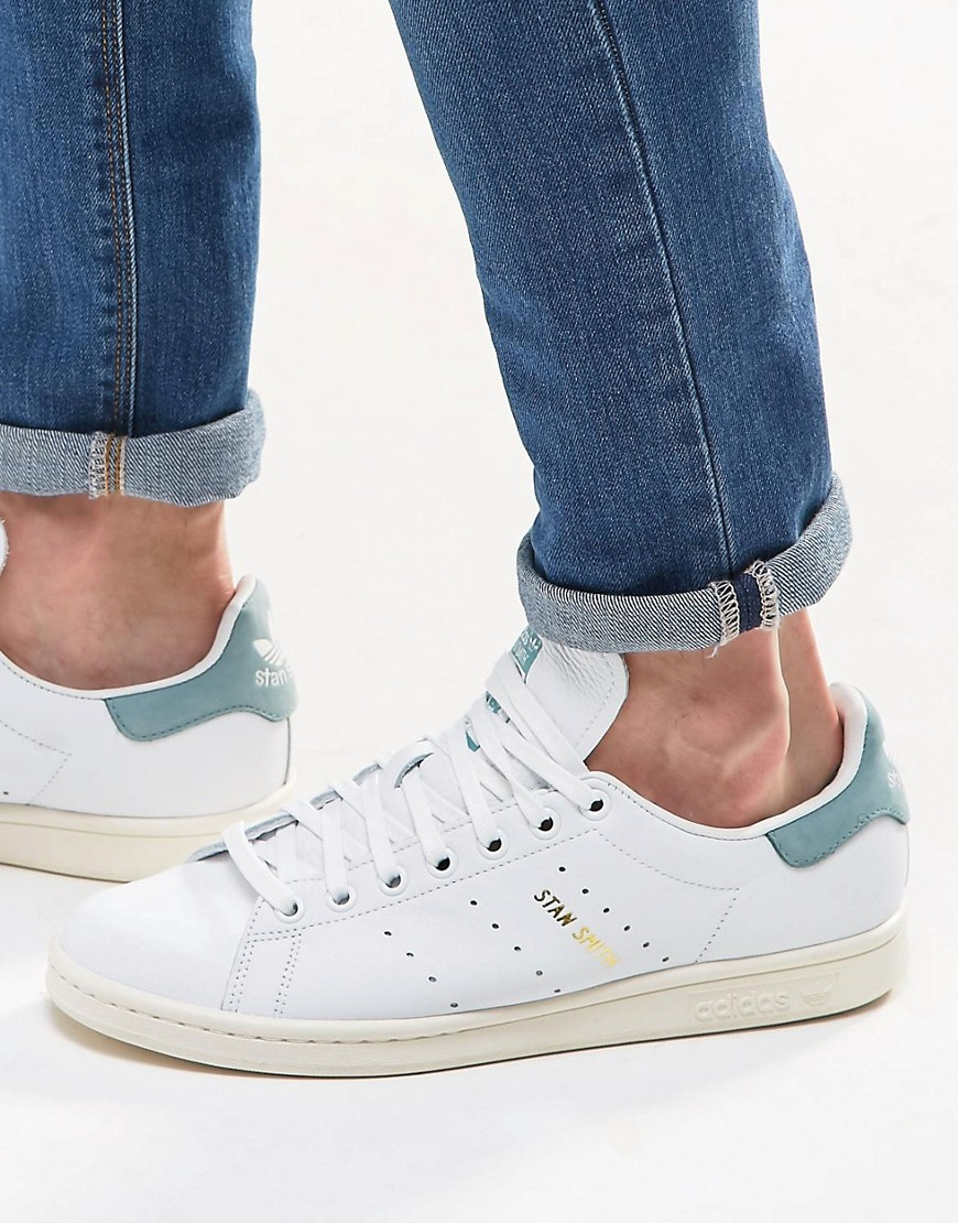 9d2cca636736 Lyst - adidas Originals Stan Smith Trainers In White S80025 in White ...
