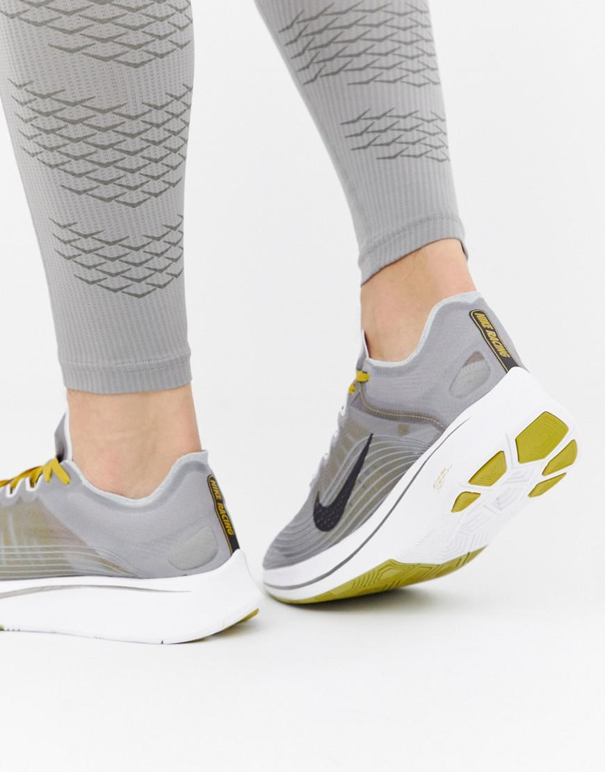 Nike Zoom Fly Sp Trainers In Grey Aj9282-003 in Gray for Men - Lyst 8b57b1b65