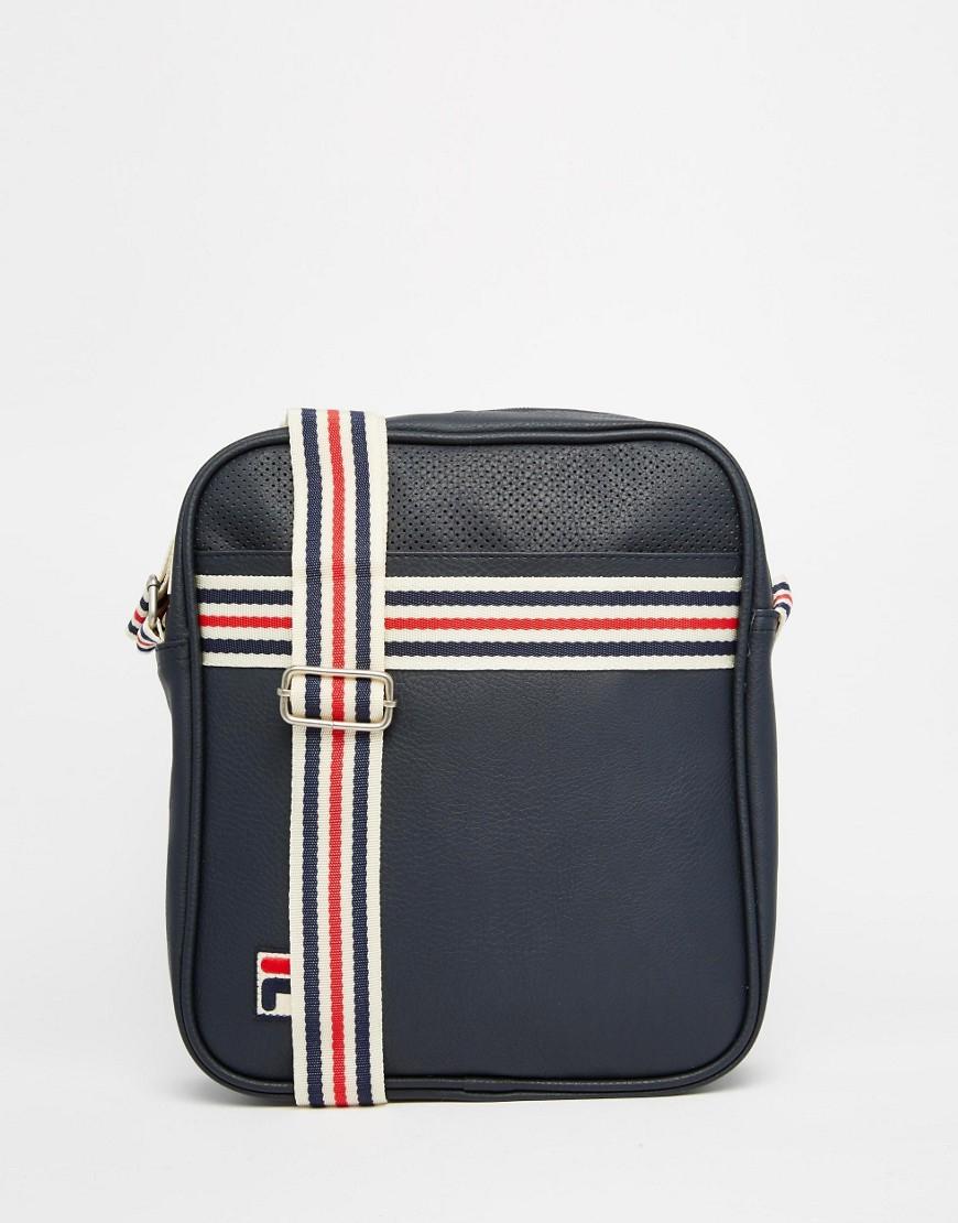 81890a94b4 Fila Vintage Flight Bag in Blue for Men