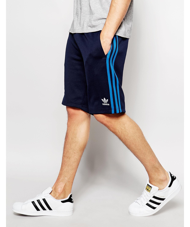 22e4f29ea adidas Originals Superstar Shorts Aj6941 in Blue for Men - Lyst