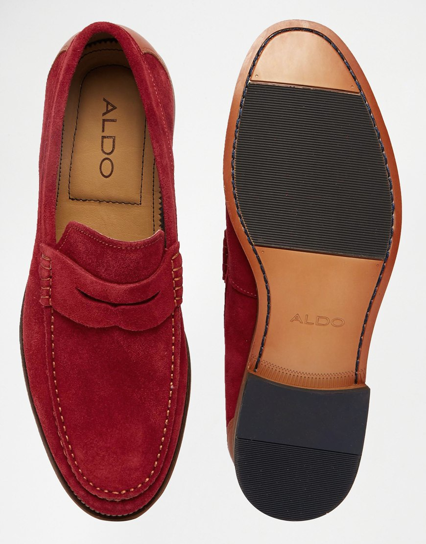 Lyst - Aldo Cynfran Penny Loafer in Red for Men