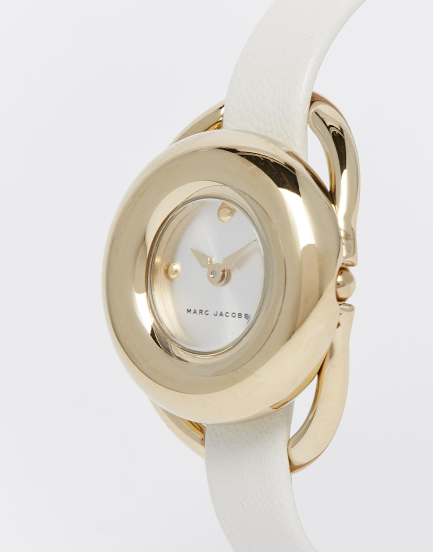 Marc jacobs White Jerrie Watch Mj1446 in Metallic | Lyst