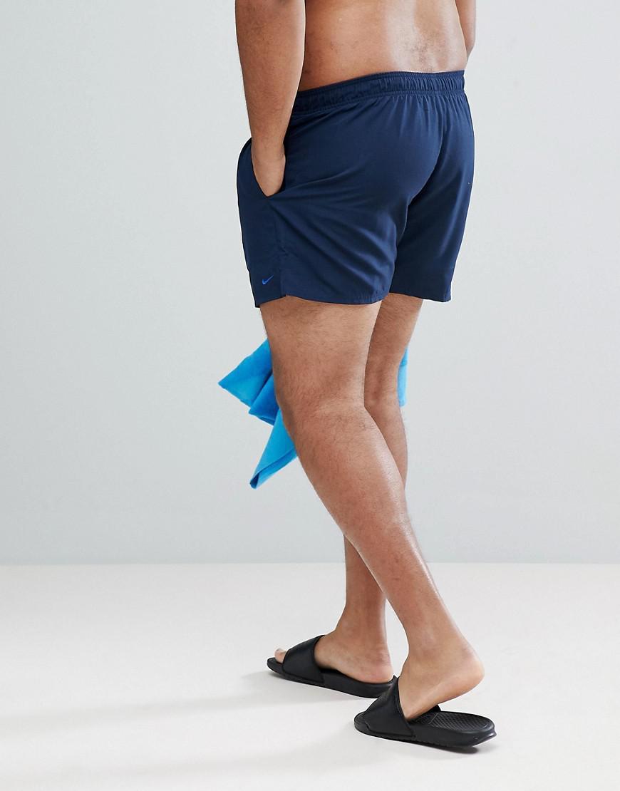 00a27deeea9 Nike Nike Plus Volley Super Short Swim Short In Navy Ness8830-489 in Blue  for Men - Lyst