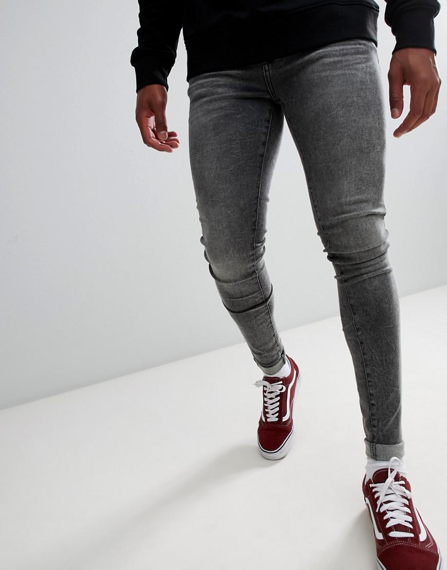 87df805985f Dr. Denim Leroy Super Skinny Jeans In Boulder Gray in Gray for Men ...