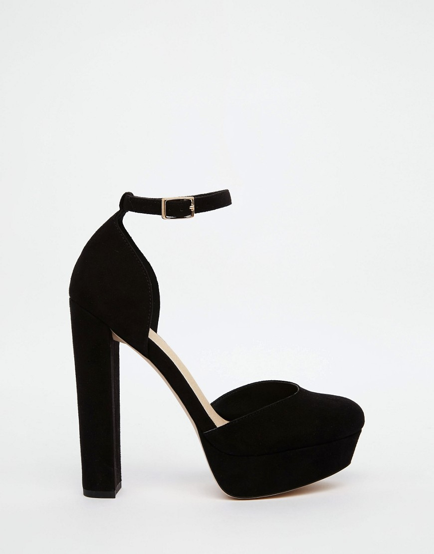 36c76e792d84 ASOS Photobox Platform Shoes in Black - Lyst