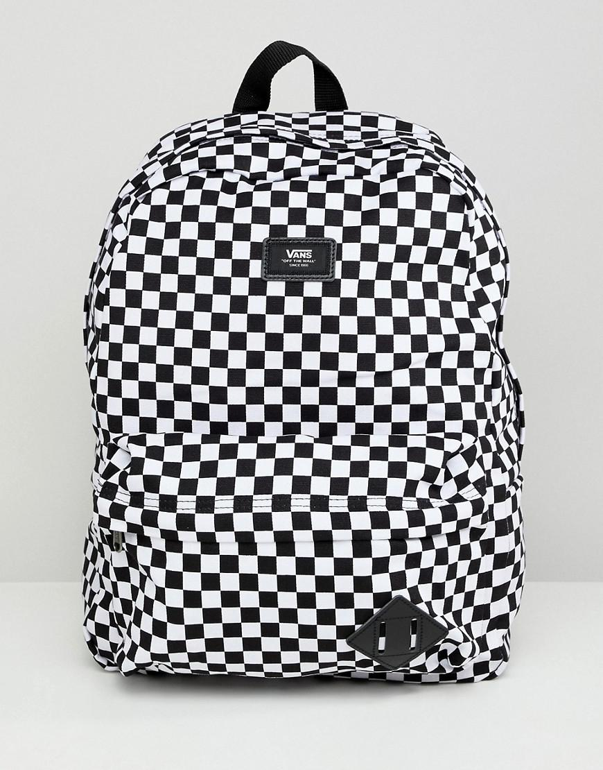 9f56aa60669c Vans Pink And White Checkerboard Backpack- Fenix Toulouse Handball