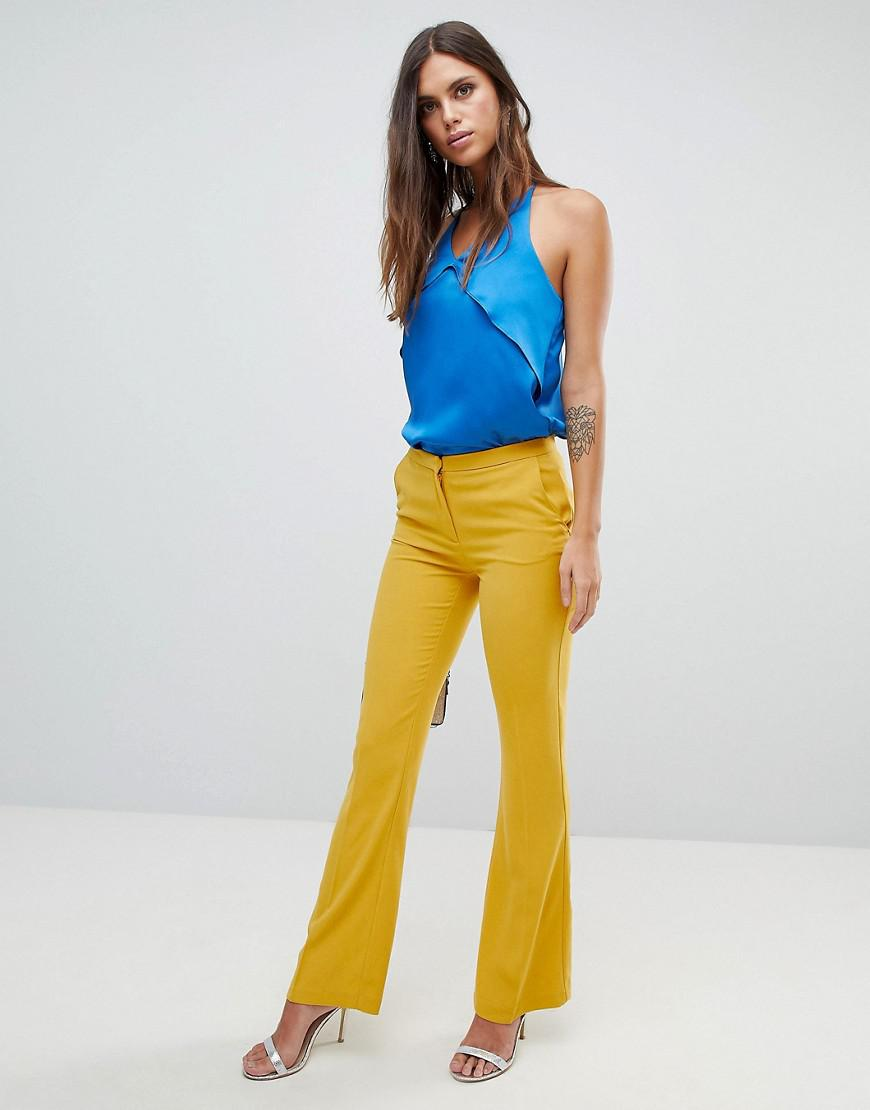Boot Flare Trouser - Yellow Y.A.S Huge Surprise From China Sale Online ZuGai7NuP
