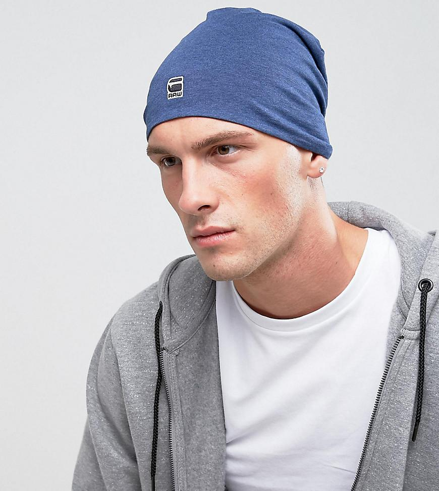 Wyddo Beanie Hat In Blue - Blue G-Star DyODf5i9Q