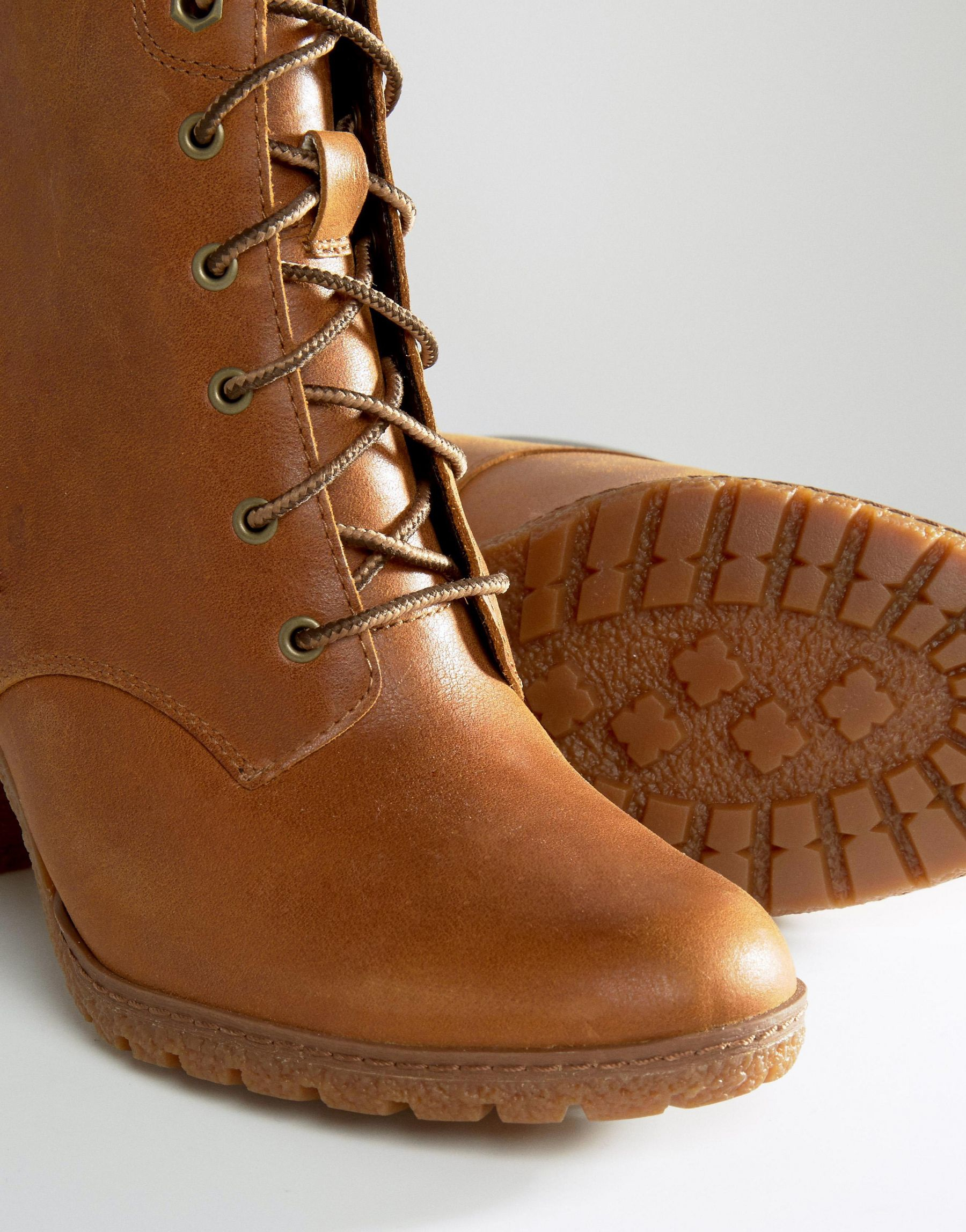 f2d309932e9d Wheat Boot 6 Lyst Brown In Glancy Rumble Timberland T4Aqvpq