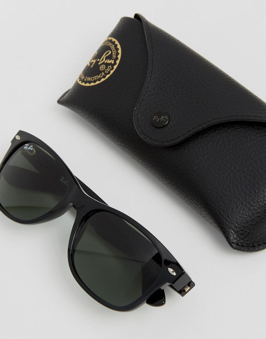 eb7e2bfa2f ... cheapest ray ban new wayfarer sunglasses 0rb2132 in black for men lyst  d0cb1 d859f ...