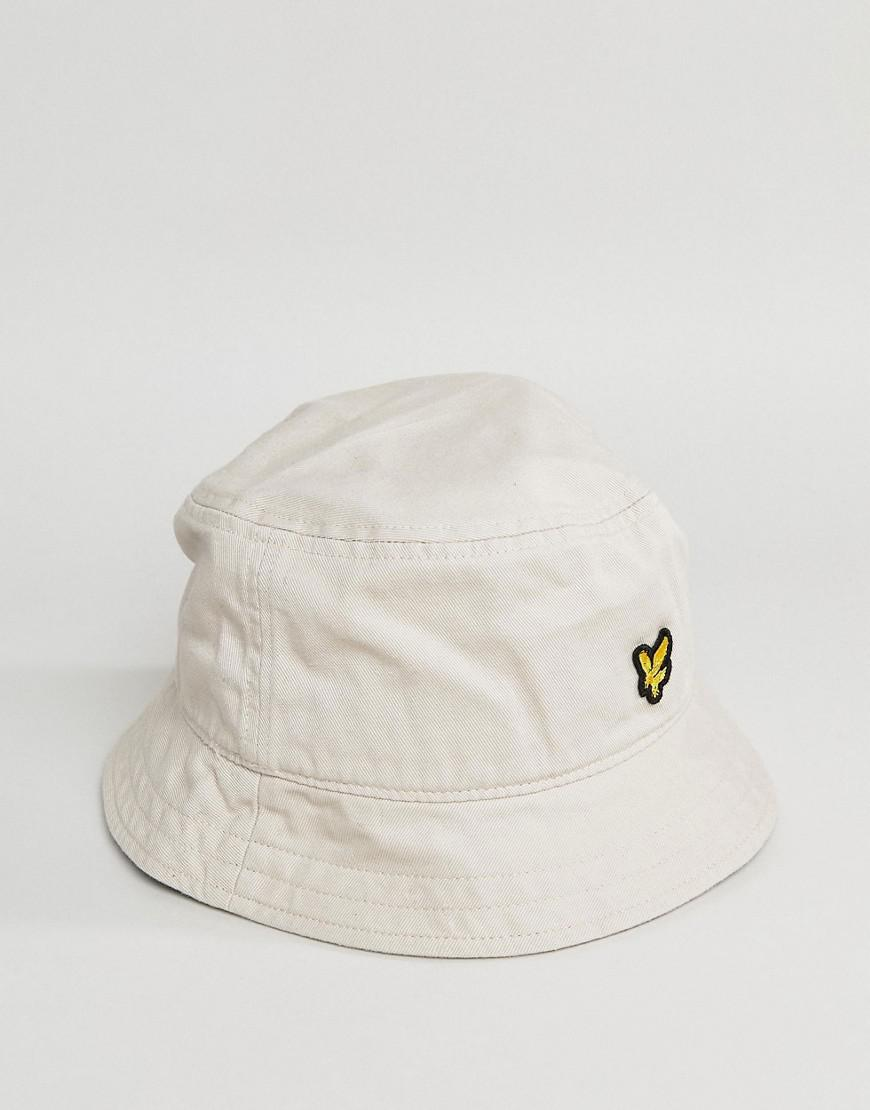 87e57af83ce Lyst - Lyle   Scott Bucket Hat In Light Stone for Men