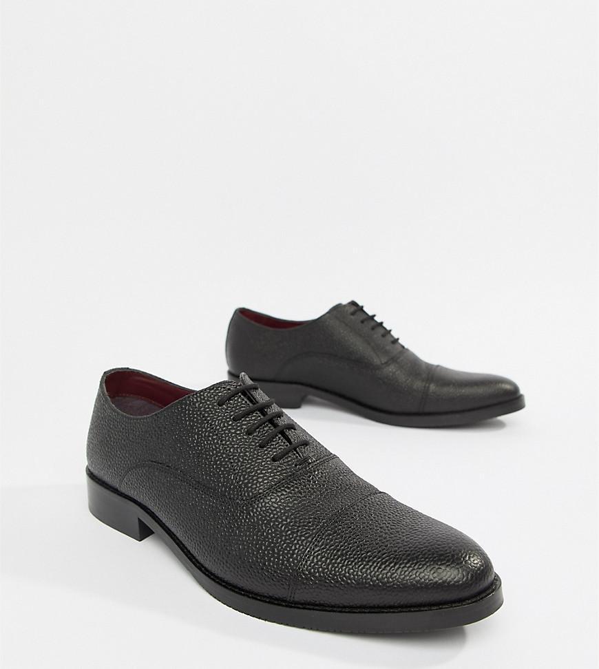 6672079c7653 Scotch Lyst For Men Leather Asos Lace In Black Up Shoes Grain xxR4gYwqf