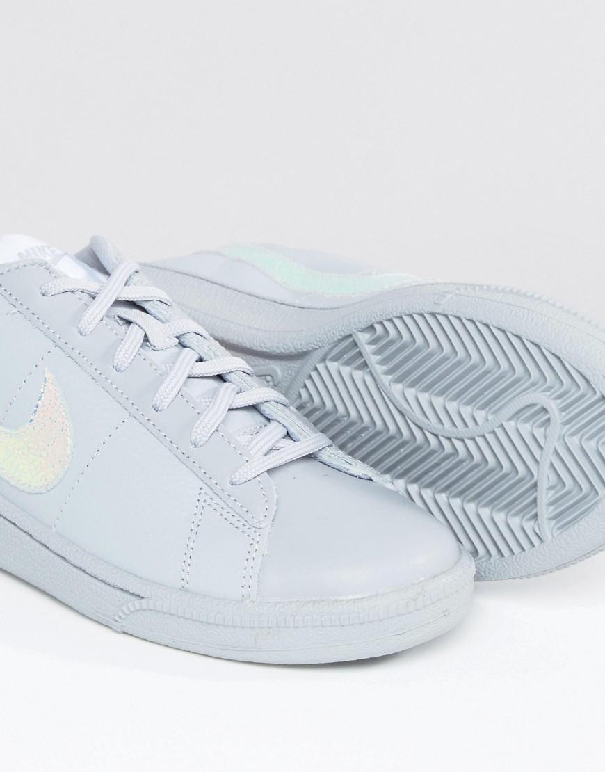 e89b9b3c90 Nike Classic Trainers In Holographic Grey in Gray - Lyst