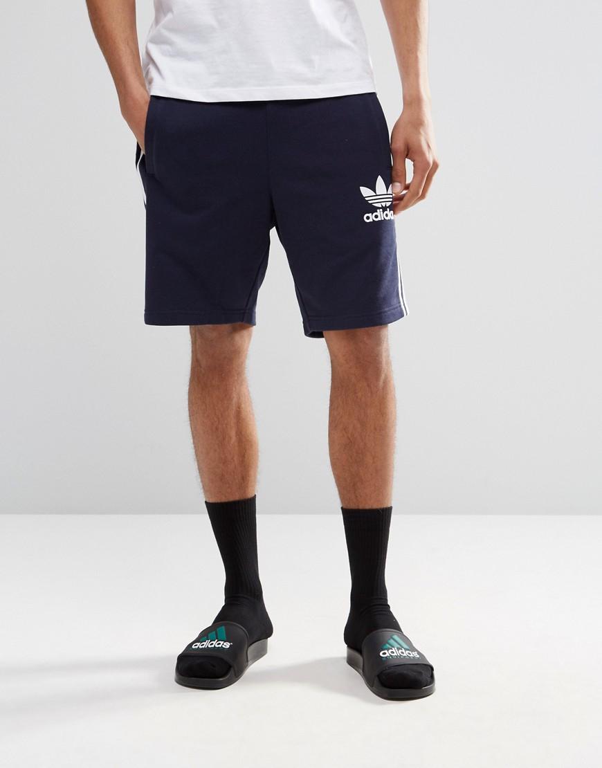 99218bdc66396d Lyst - adidas Originals Trefoil Shorts Ay7731 in Blue for Men