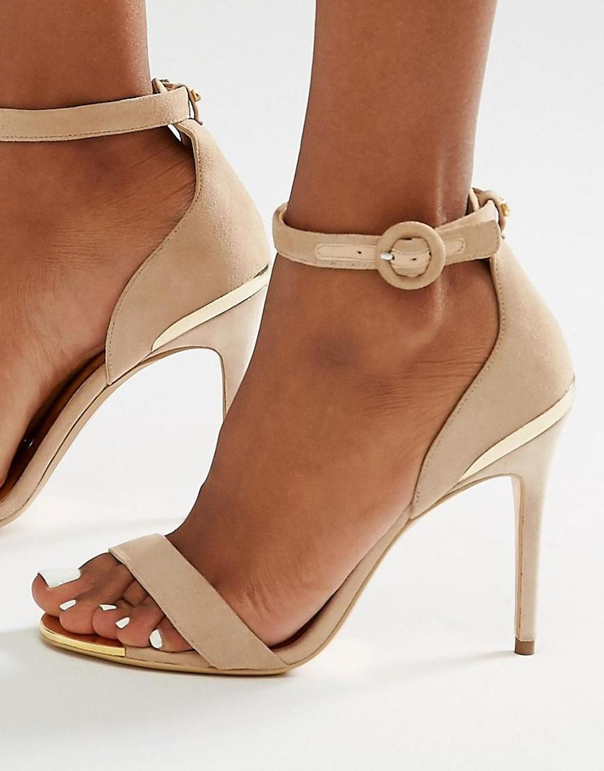 New Look Shoes Pink Suede