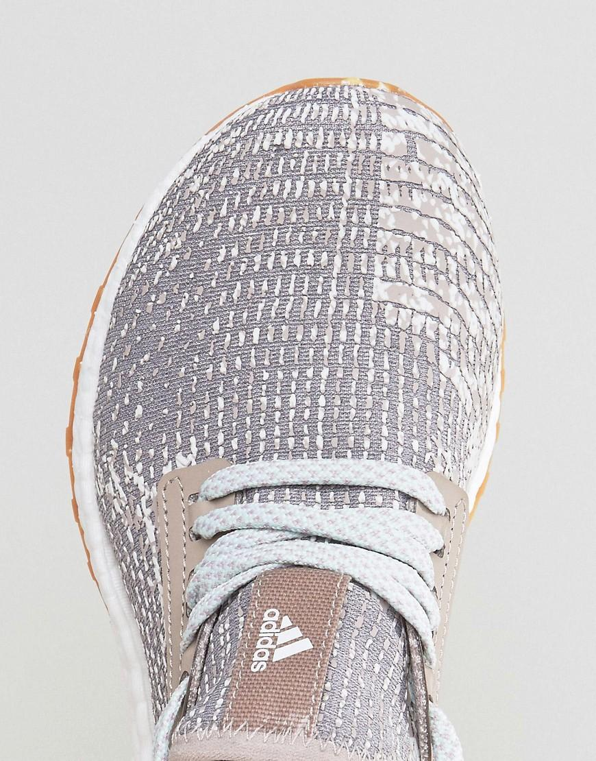 adidas originals pure boost x sneakers in snake effect
