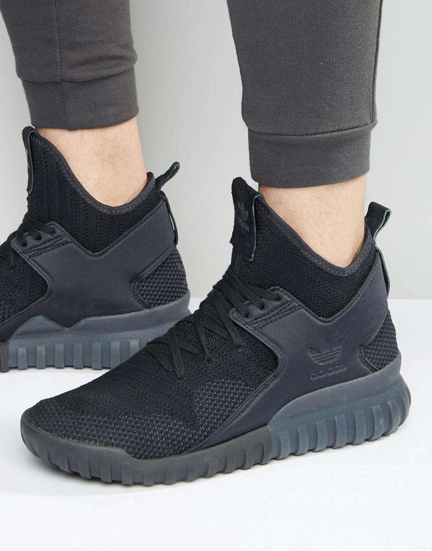 Adidas Tubular X Primeknit Shoes Blue adidas US