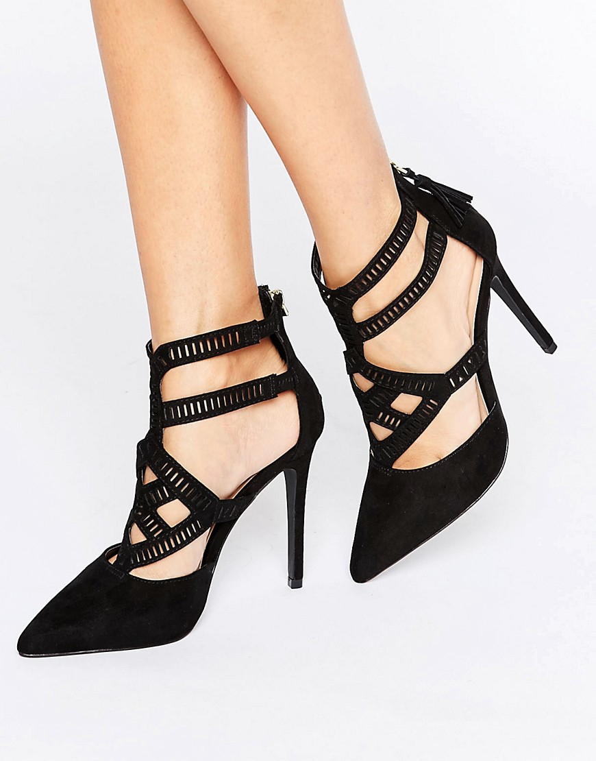 Asos Black Court Shoes