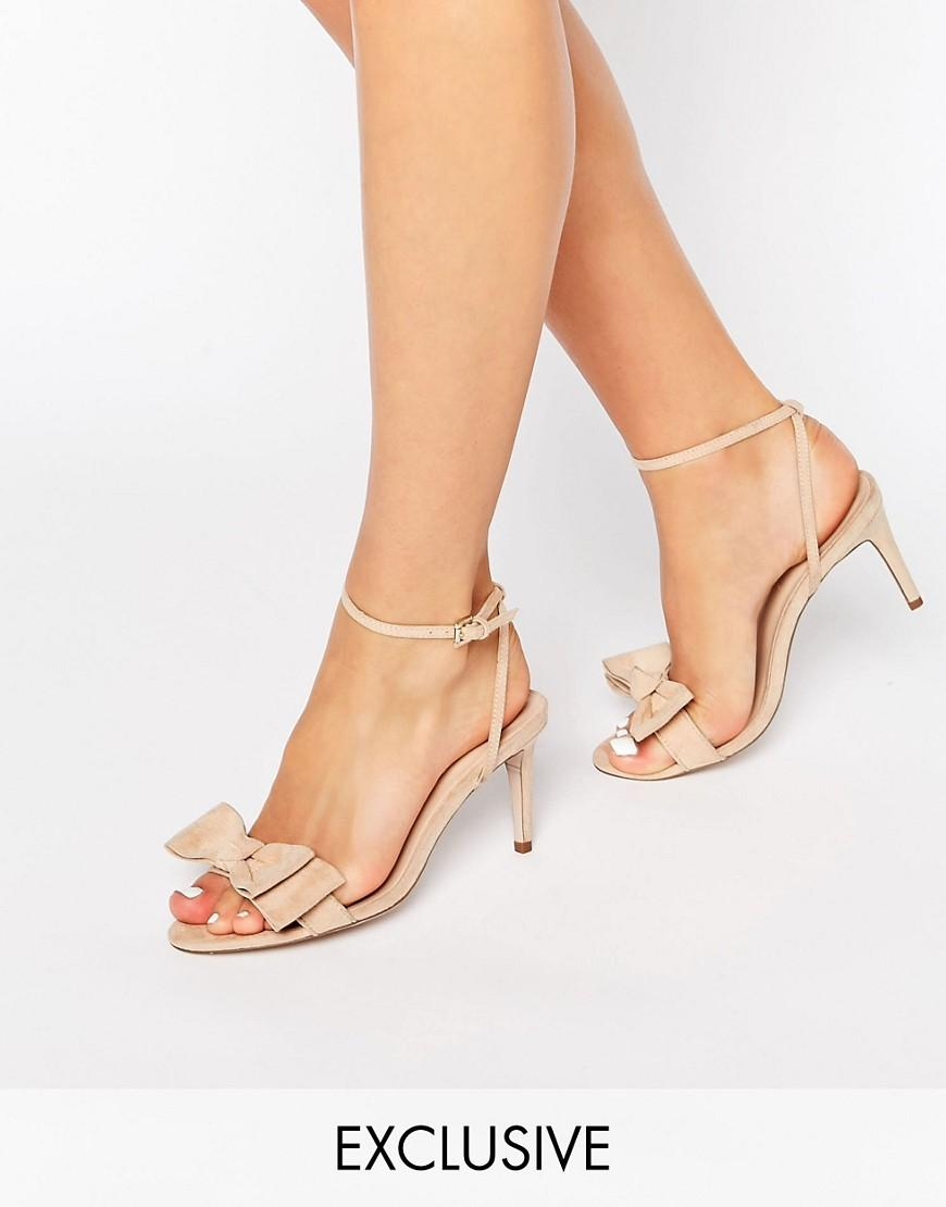 Asos Shoes Barely There Strappy Strappy Heels