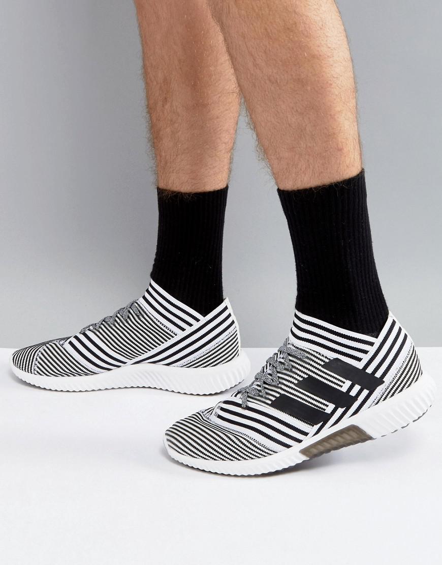 Lyst - adidas Football Nemeziz Tango 17.1 Trainers In White Bb3659 ... 63e01a6b0f