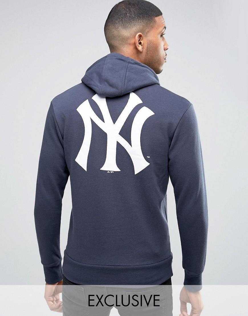 Lyst - Majestic Filatures Yankees Hoodie Exclusive To Asos ...