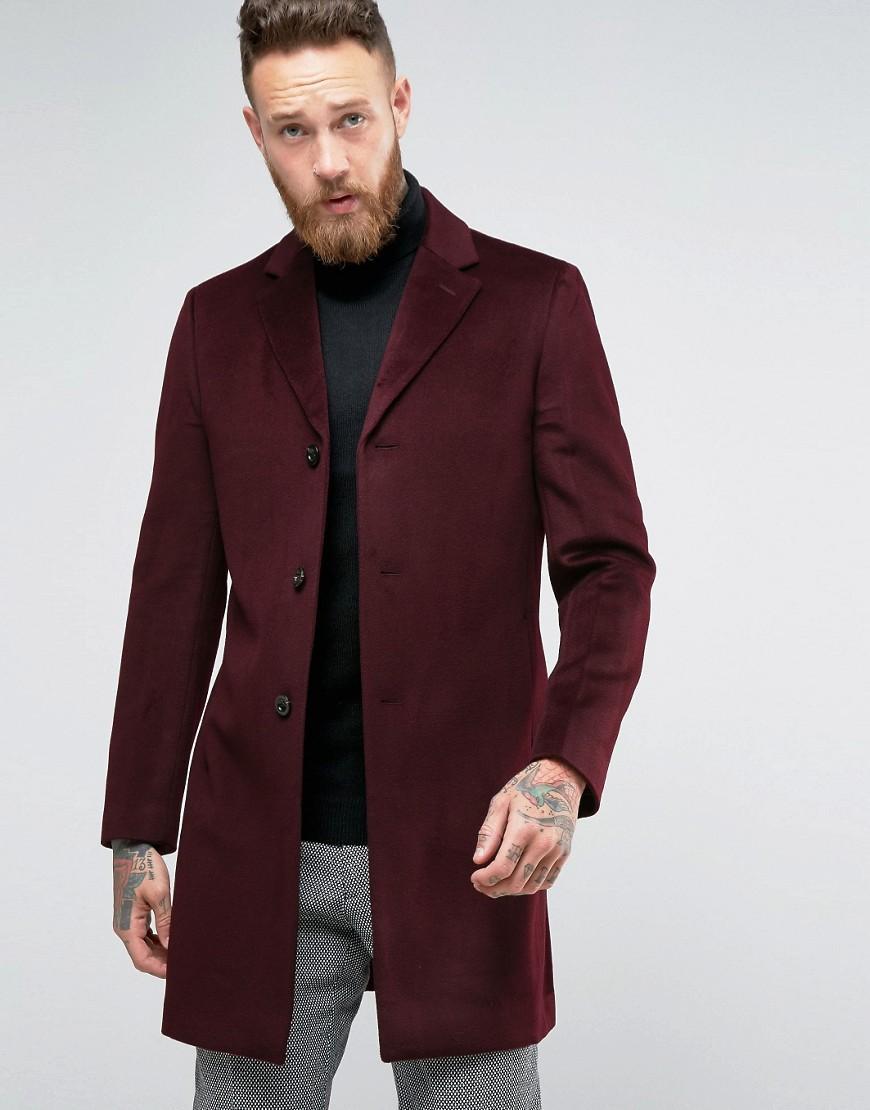 Lyst - Reiss Overcoat ...